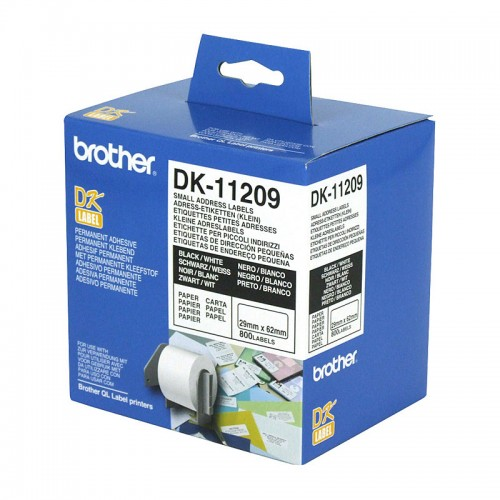 Brother DK11209 White Label